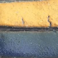 jaune,bleu,été,céramique,