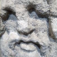 pierre,visage,vieillard,