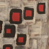 carrés,rouge,écouler,