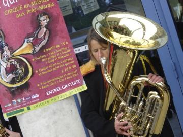 tuba,fanfare des aulnières,loué,