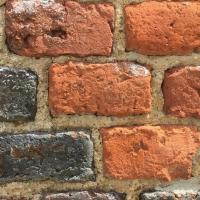 mur,briques,rouges,