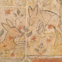lièvres,église,fresque,