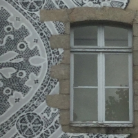 fenêtre,dentelle,alençon,
