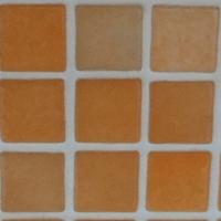 carrés,orange,céramique,