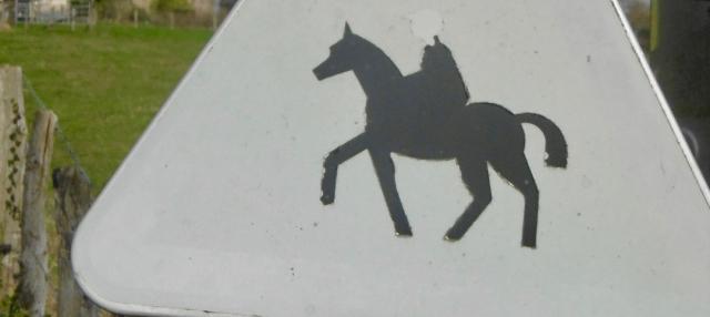 panneau,chevaux,