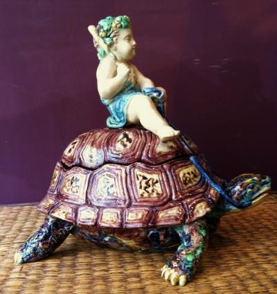 tortue,céramique,
