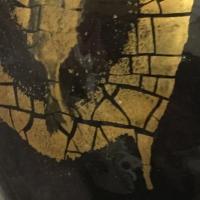 feuille,or,céramique,