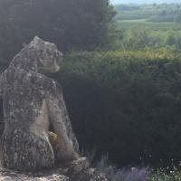 monstre,sculpture,paysage,