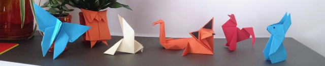 déluge,origami,animaux,