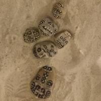 galets,sable,alain pauzié,