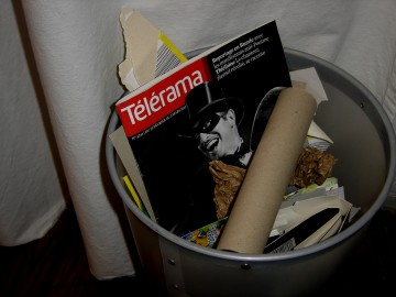the artist,jean dujardin,poubelle,