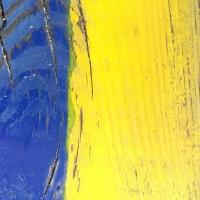 jaune,bois,bleu,