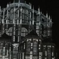 chapelles,cathédrale,noir,