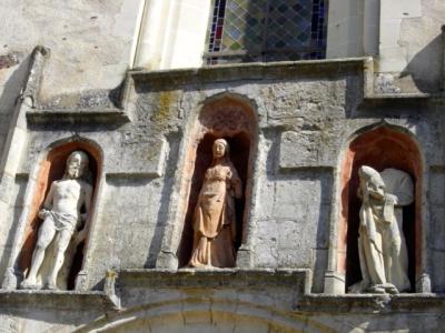 église,statues,