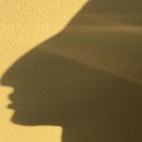 profil,ombre,tête,