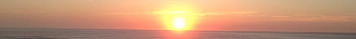 soleil,coucher,océan,